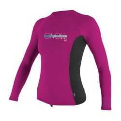 Oneill - GIRLS PREMIUM SKINS L/S RASH GUARD