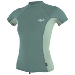 Oneill - GIRLS PREMIUM SKINS S/S RASH GUARD