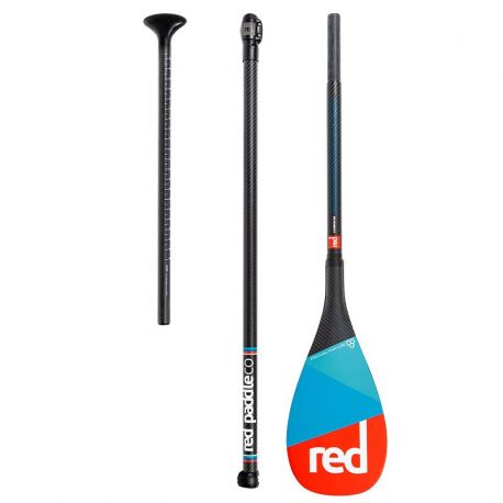 RED PADDLE full 50% CARBON 3 PARTS CAM LOCK